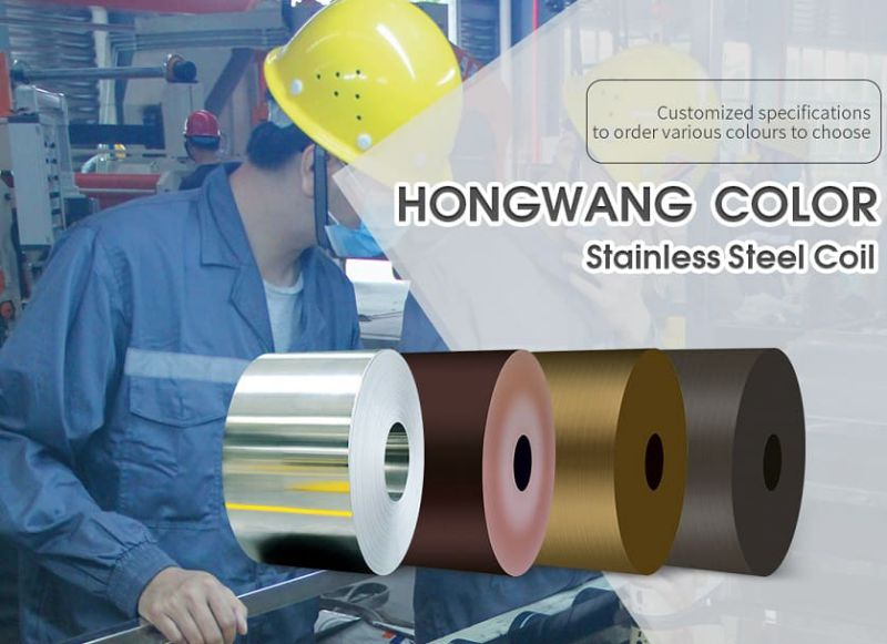 PVD Coating Stainless Steel Coil